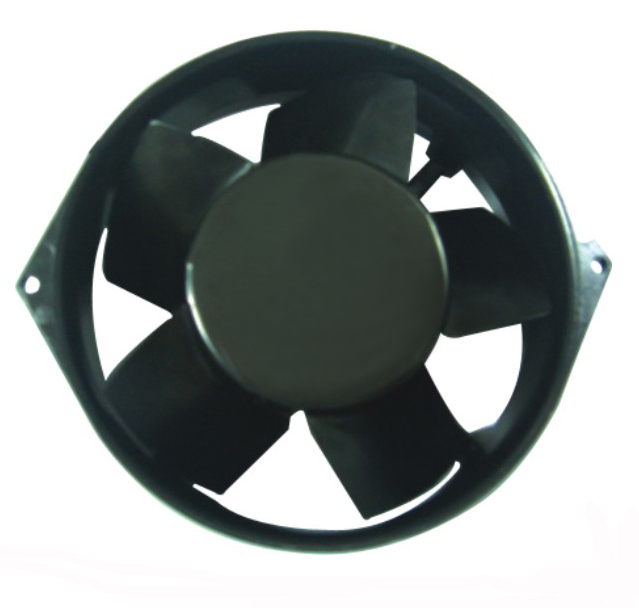 AXIAL AC FAN AA17255 Metal Impeller